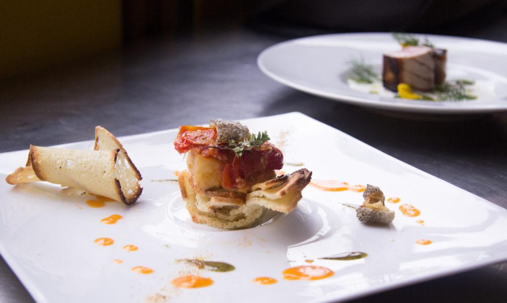 I piatti degli chef sfidanti