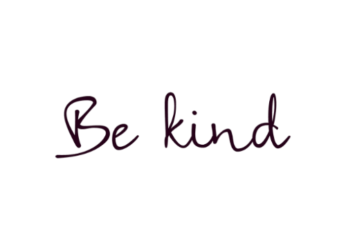 let's be kind - saporite