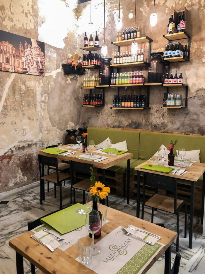 salmoriglio, steak house di Palermo