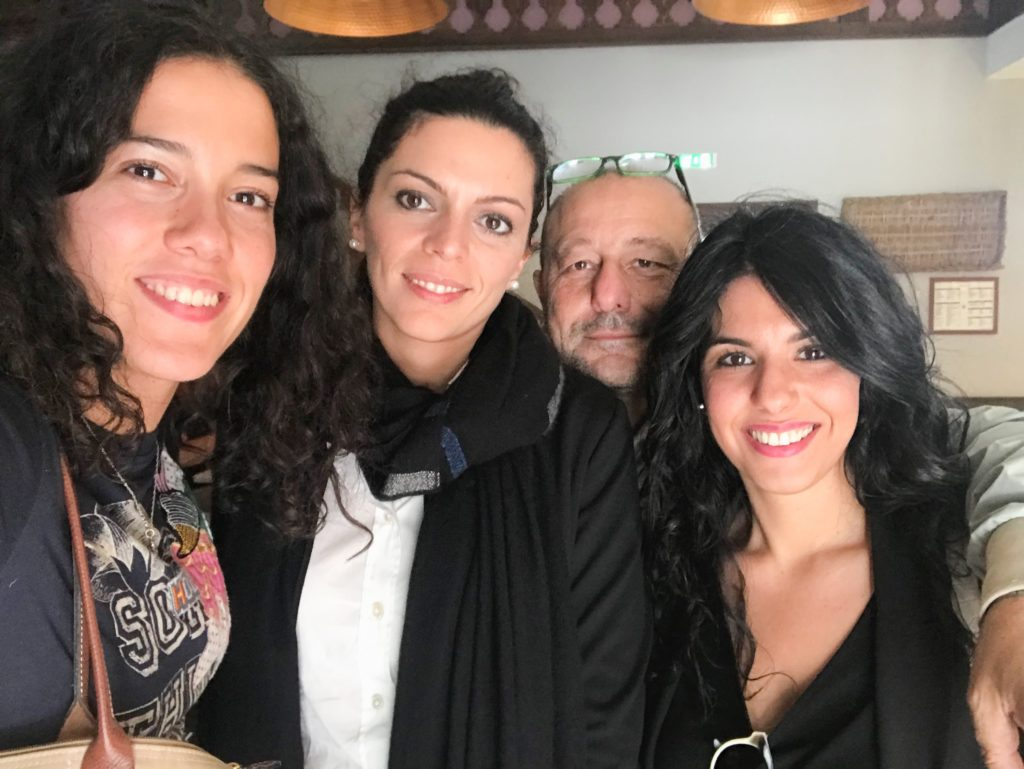 Un super selfie insieme a Teresa Palmieri ed a Nello