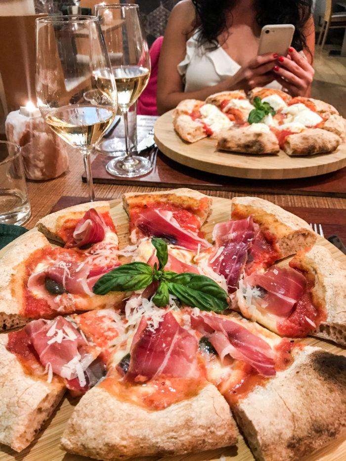 pizza da bioesserì di saporite