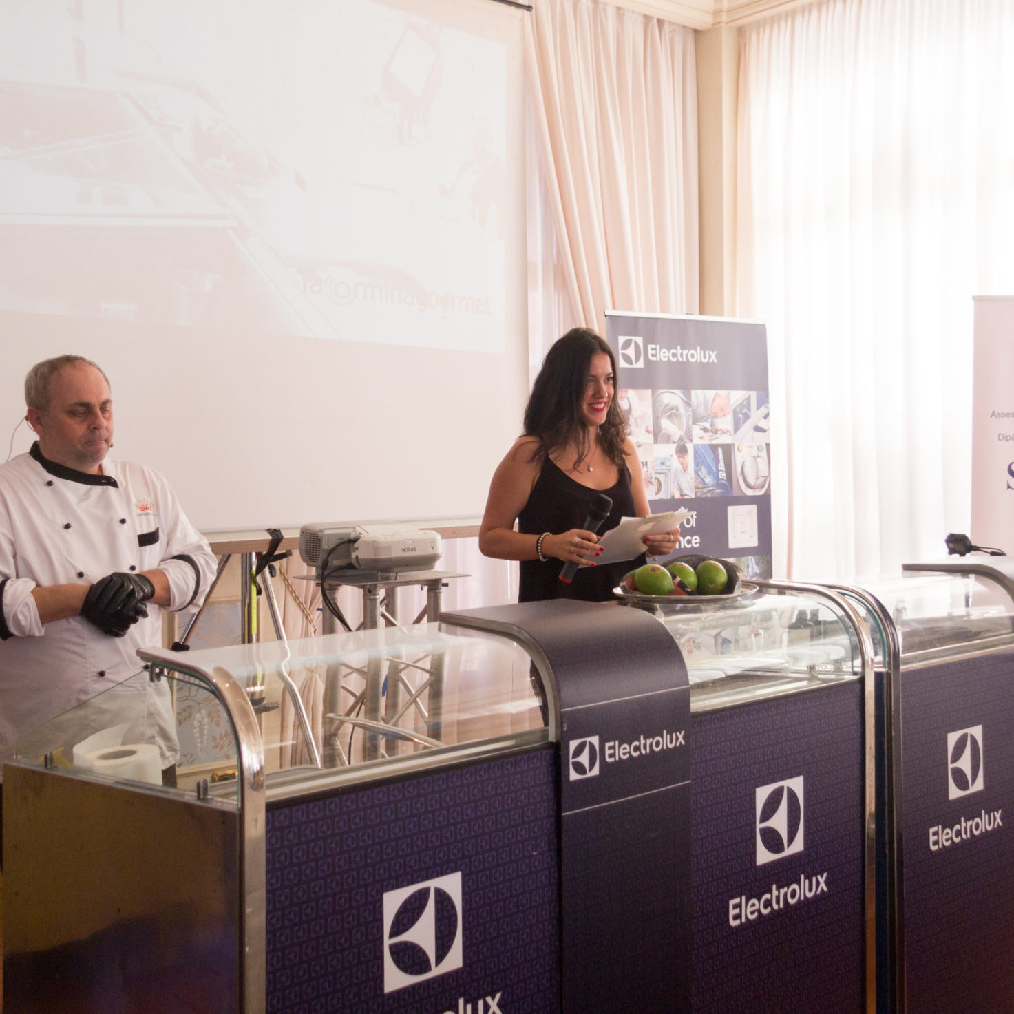 cooking show di sfrigola con Laura Martino