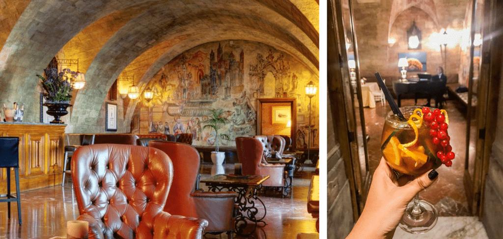 Il lounge bar Des Arcades e il Pimm's: long drink a base di ginger ale - saporite