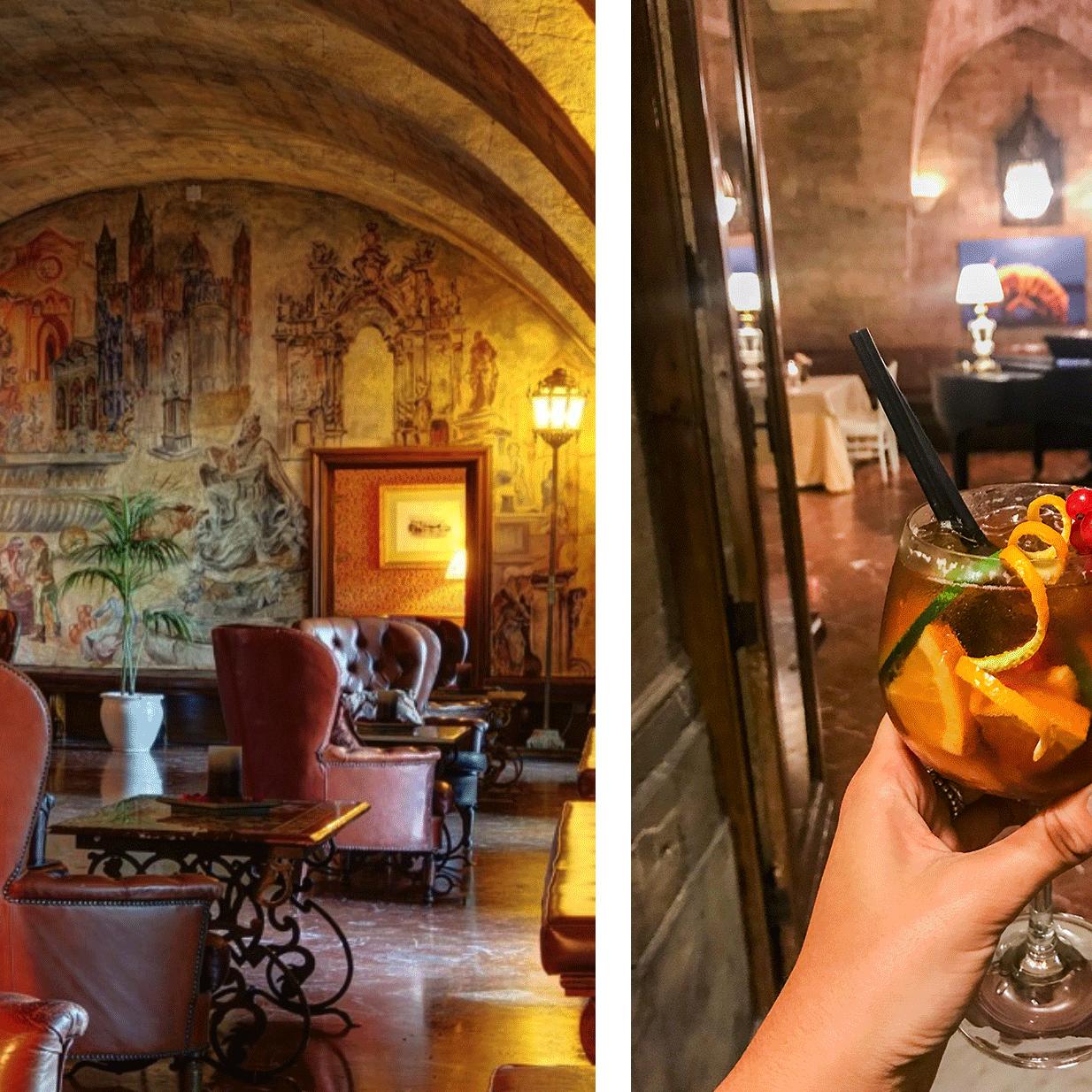Il lounge bar Des Arcades e il Pimm's: long drink a base di ginger ale