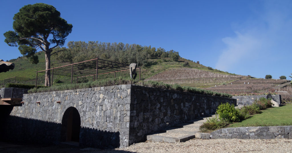 La cantina Benanti sull'Etna - Saporite