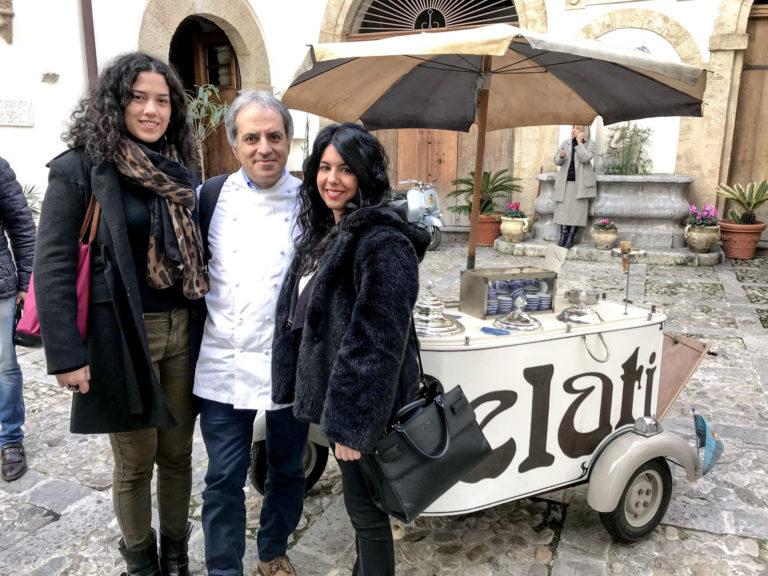 saporite blogger con il maestro gelatiere antonio cappadonia