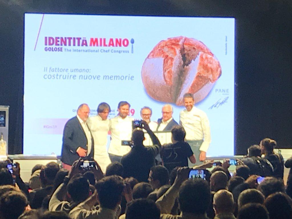 Andrea Berton, Massimo Bottura, Carlo Cracco e Davide Oldani rendono omaggio ad Alain Ducasse