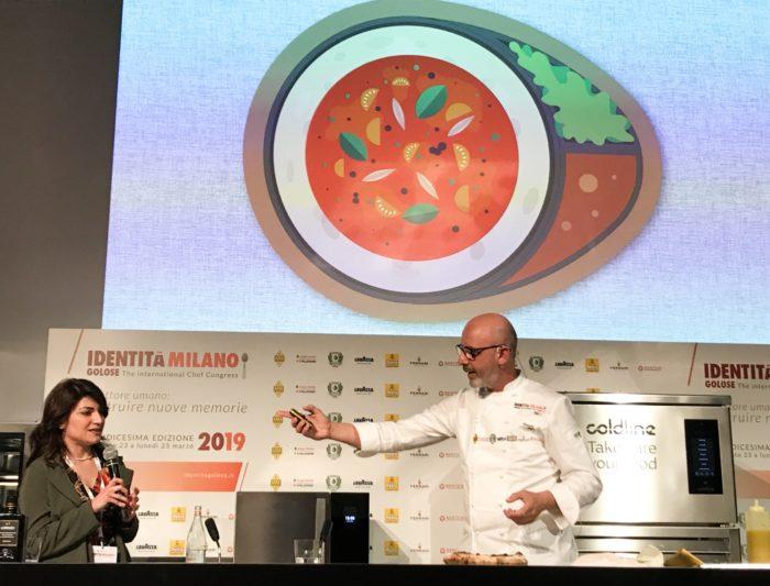 nuovo concetto di pizza mediterranea - franco pepe