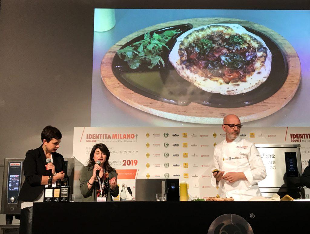 la pizza funzionale/salutare di Franco Pepe - saporite blogger