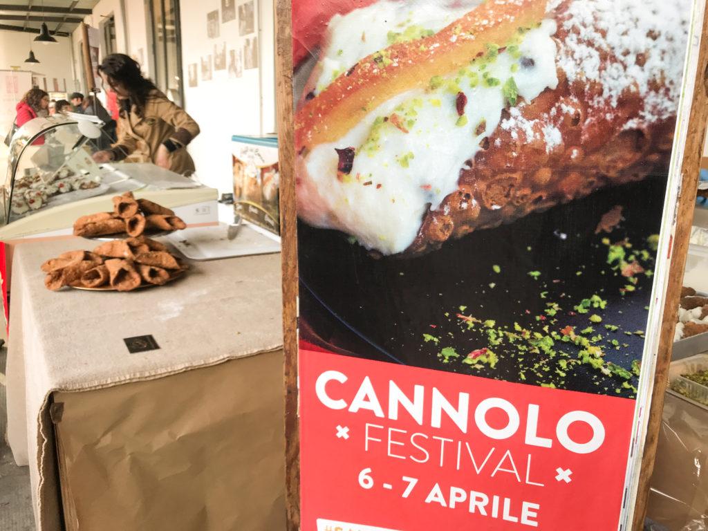cannolo festival - saporite blogger palermo