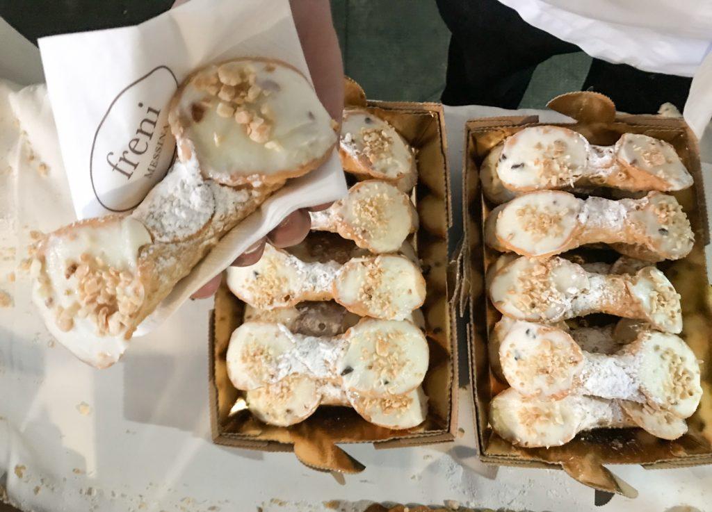Il cannolo della pasticceria Freni, Messina