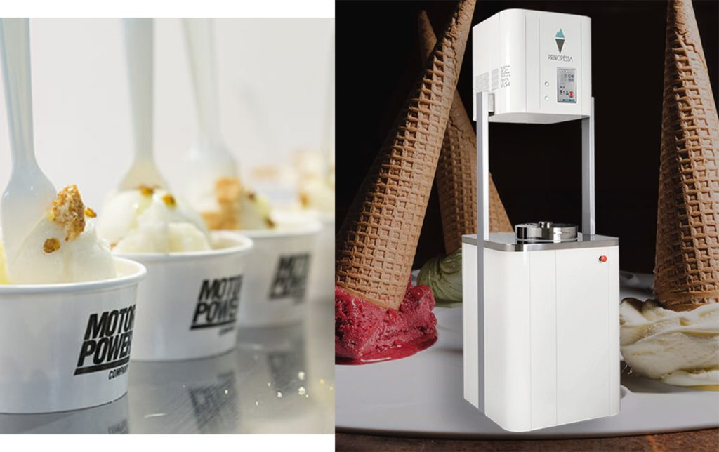 principessa la macchine del gelato - saporite blogger