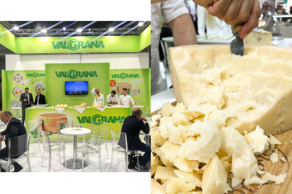 TUTTOFOOD 2019 - Valgrana, formaggio saporite blogger