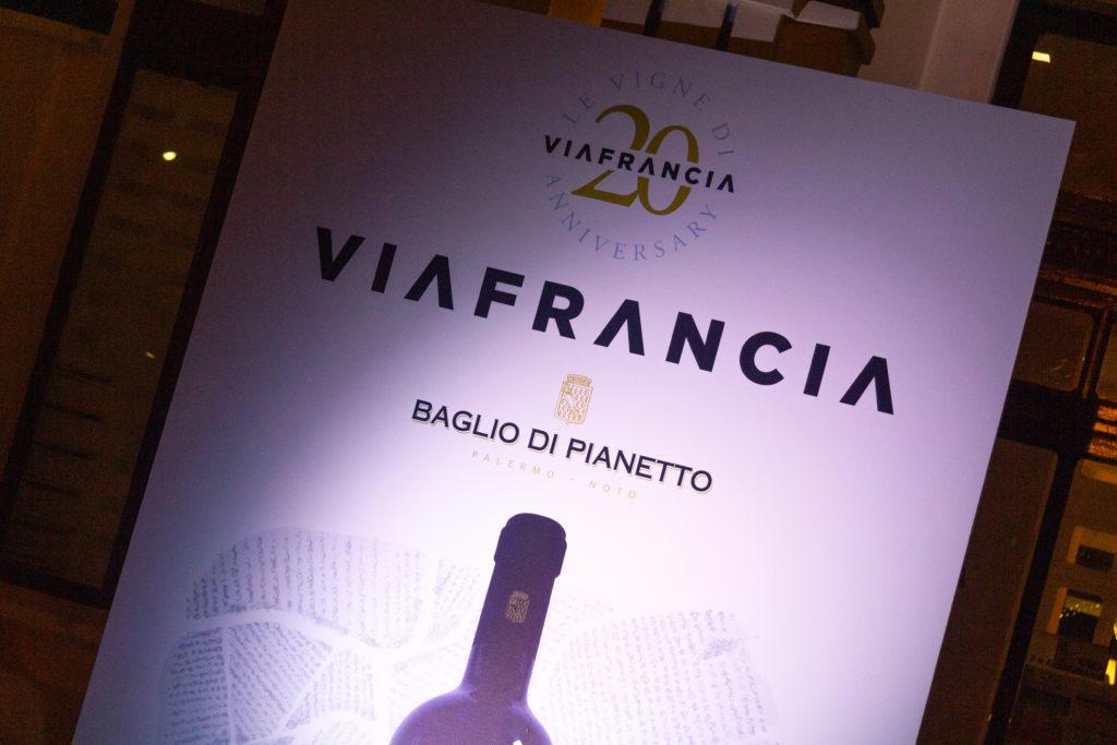 20 anni di ViaFrancia - baglio di pianetto