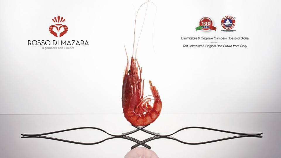 Rosso di Mazara gambero