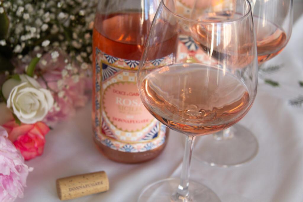 vino rosato dolce e gabbana e donnafugata